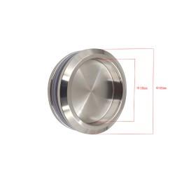 Sliding Shower glass door handle-Round closed style  - Chrome finish.