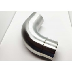 90° Elbow Rounded mail to female connector 42mm