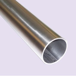 Stainless Steel 42mm (1-5/8 inch) diameter handrail pipe- Brushed finish- 5 meters long