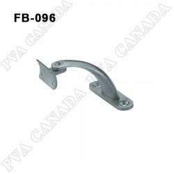 Handrail wall bracket- Brushed finish FB-096