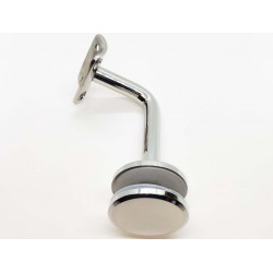 Handrail bracket for glass- Chrome finish IQ-9001