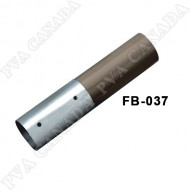 Wood Handrail Straight connector-Brushed