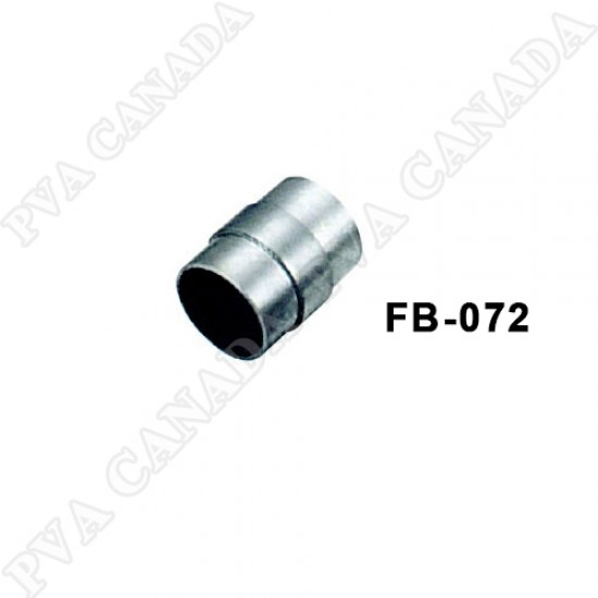 Satin Stainless Steel Pipe 50.8mm  Straight Connector