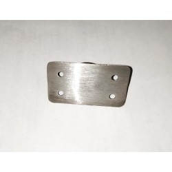 Handrail holder for balusters/posts- Flat top Brushed finish