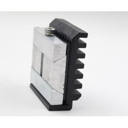 Base shoe glass holders/ lock