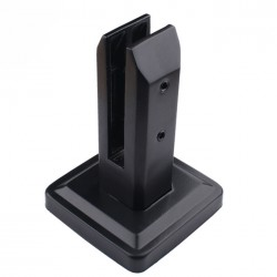 Stainless Steel Square Spigot - Black