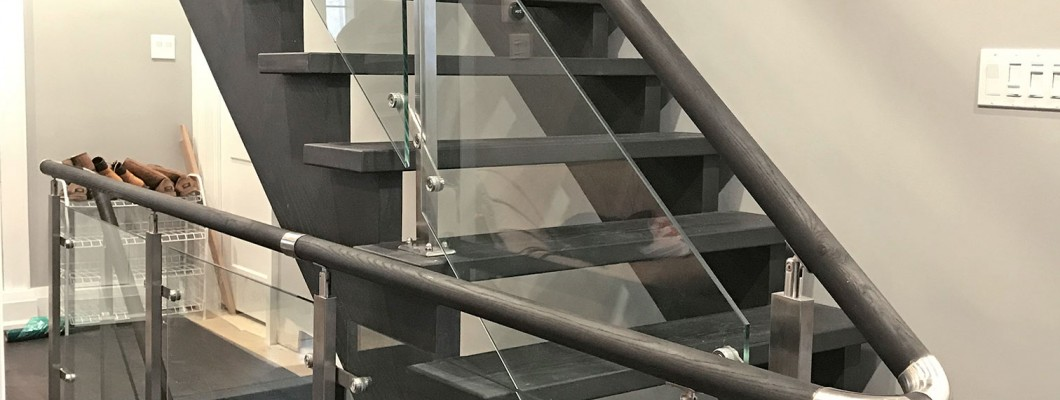 Stair railings project