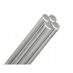 Stainless Steel Rod 10mm- for Rods style railing system-Brushed finish